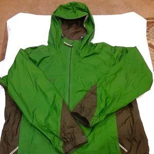 Hooded Columbia Raincoat/Windbreaker
